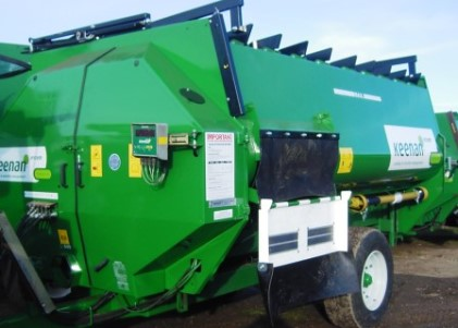 second hand diet feeder for sale: fully refurbished keenan 140 fitted with series 3 bale handler