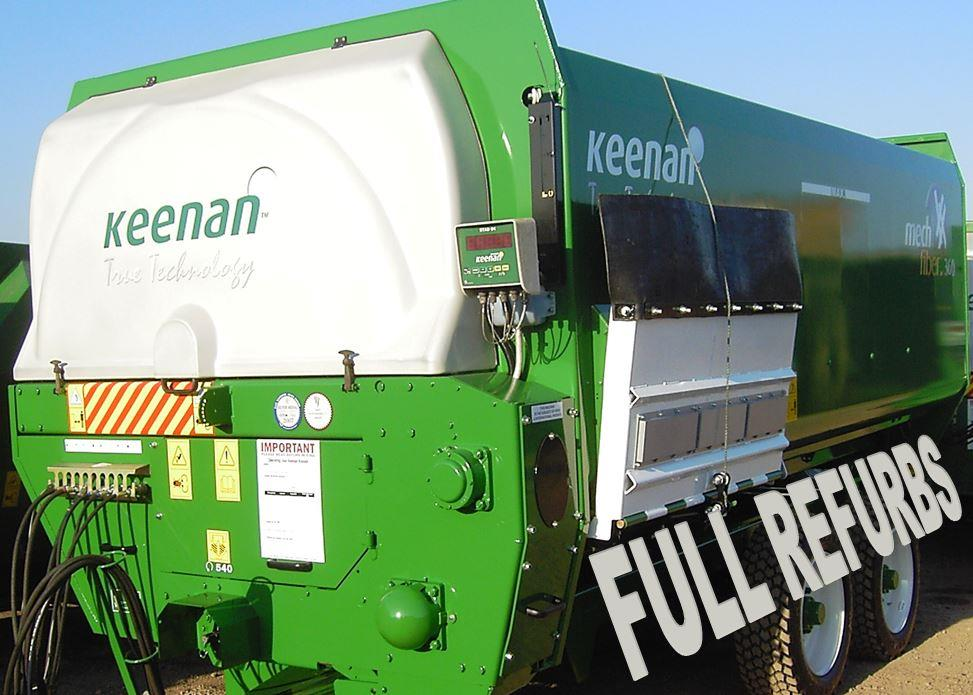 second hand diet feeder for sale: fully refurbished mf360 keenan cattle diet feeder, export ready